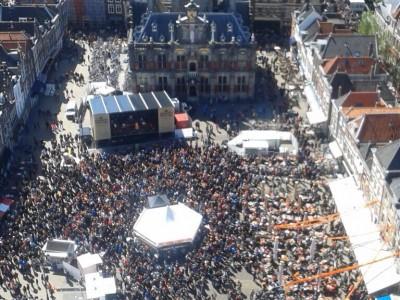 Koningsdag 2015 @ Markt Delft